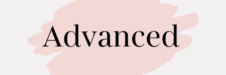 Überschrift des Angebots Advanced
