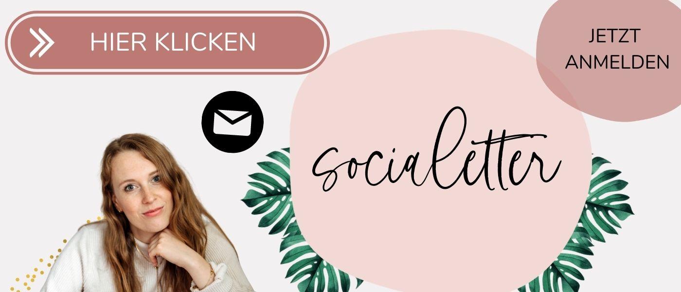 Anmeldebutton für socialetter