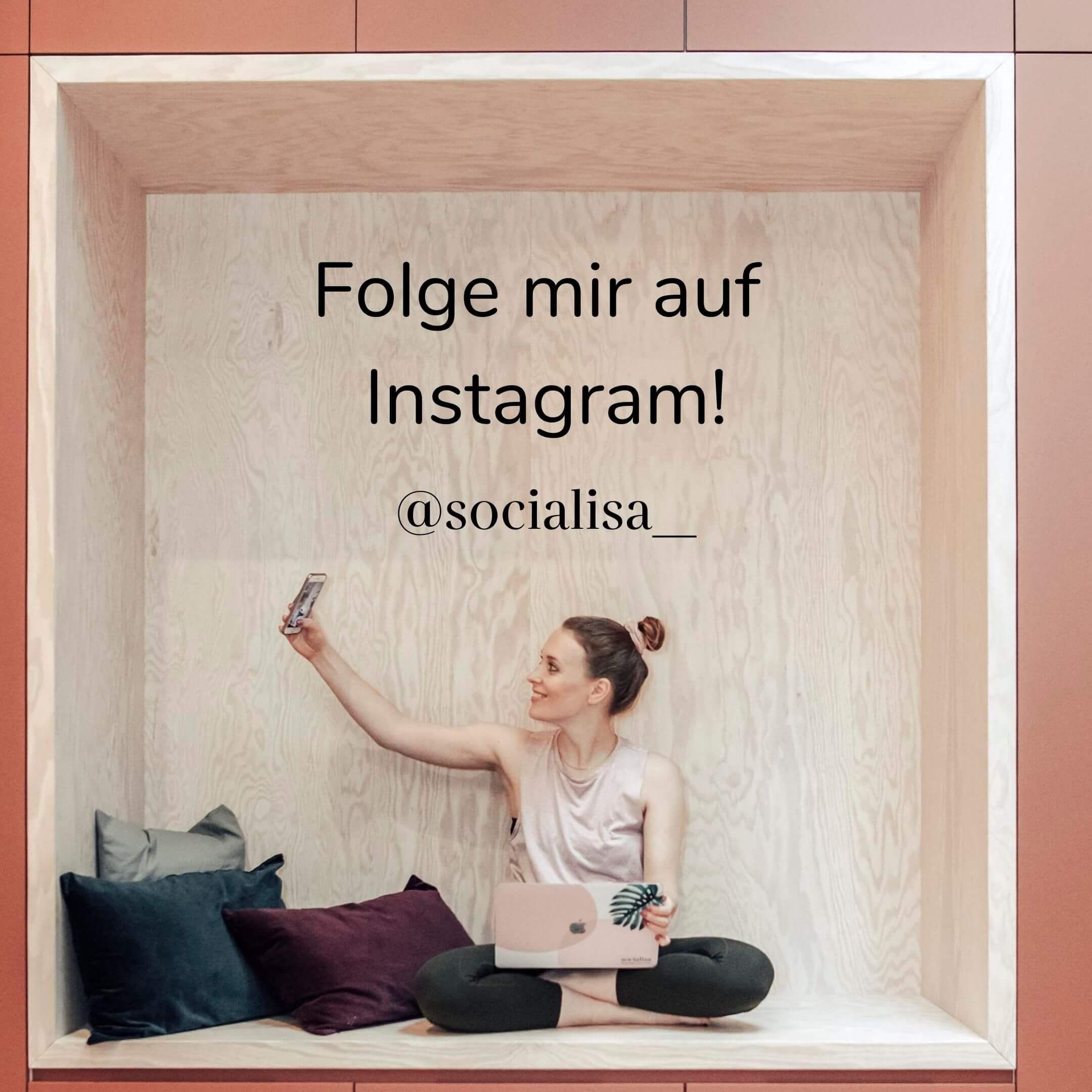 Abschnitt Instagram